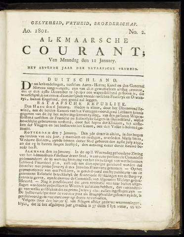 Alkmaarsche Courant 1801-01-12