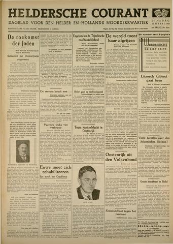 Heldersche Courant 1938-03-22