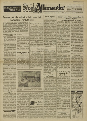 De Vrije Alkmaarder 1950-01-10