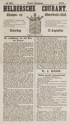 Heldersche Courant 1870-08-13