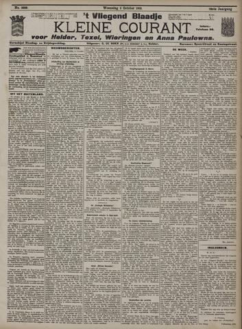 Vliegend blaadje : nieuws- en advertentiebode voor Den Helder 1910-10-05