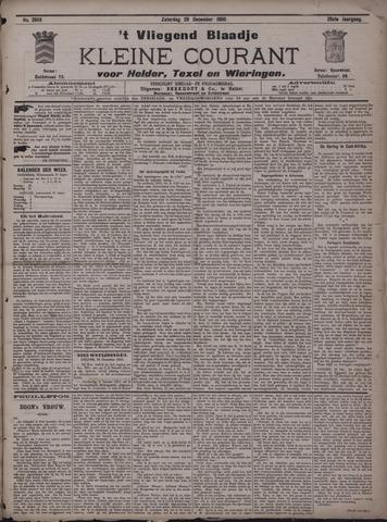 Vliegend blaadje : nieuws- en advertentiebode voor Den Helder 1900-12-29