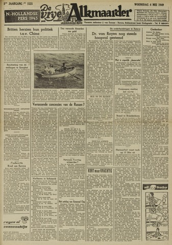 De Vrije Alkmaarder 1949-05-04