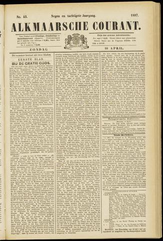 Alkmaarsche Courant 1887-04-10