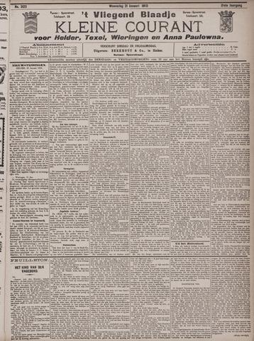 Vliegend blaadje : nieuws- en advertentiebode voor Den Helder 1903-01-21