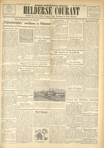 Heldersche Courant 1950-04-06