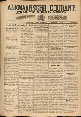 Alkmaarsche Courant 1939-02-11