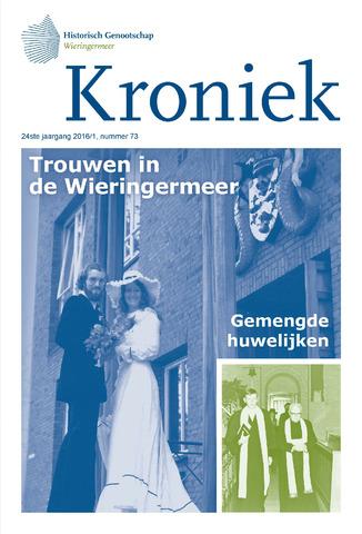 Kroniek Historisch Genootschap Wieringermeer 2016-04-01