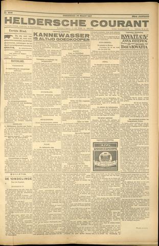 Heldersche Courant 1927-03-24