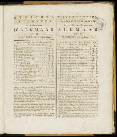 Alkmaarsche Courant 1812-06-10