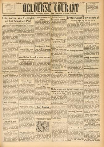 Heldersche Courant 1949-04-14