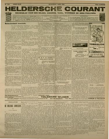 Heldersche Courant 1932-04-07