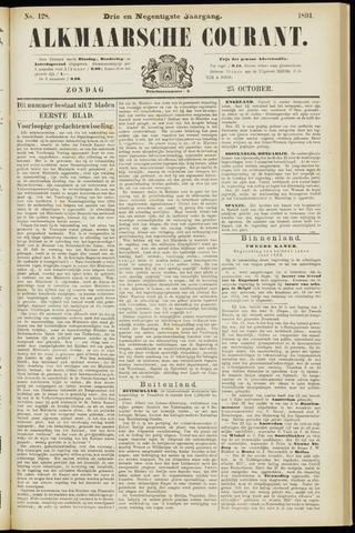 Alkmaarsche Courant 1891-10-25