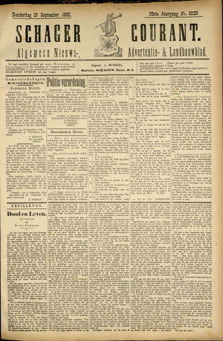 Schager Courant 1895-09-19