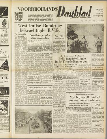 Noordhollands Dagblad : dagblad voor Alkmaar en omgeving 1953-03-20