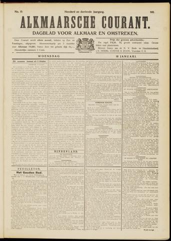 Alkmaarsche Courant 1911-01-18