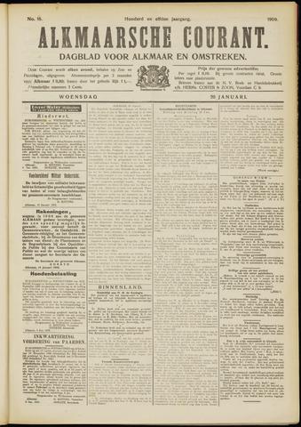 Alkmaarsche Courant 1909-01-20