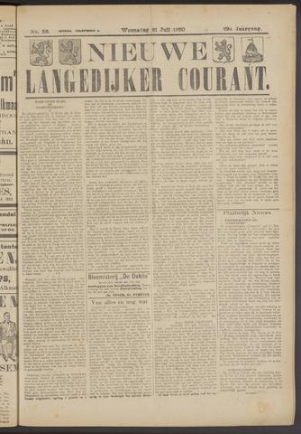 Nieuwe Langedijker Courant 1920-07-21