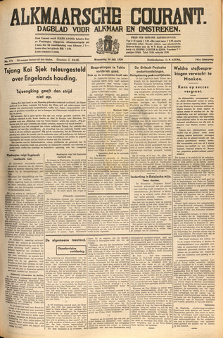 Alkmaarsche Courant 1939-07-26