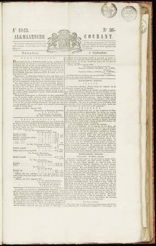 Alkmaarsche Courant 1843-09-04