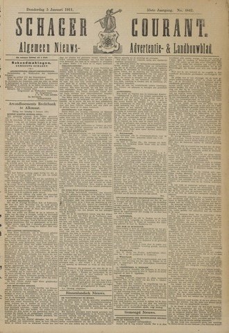 Schager Courant 1911-01-05