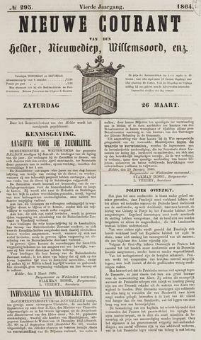 Nieuwe Courant van Den Helder 1864-03-26