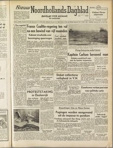Nieuw Noordhollandsch Dagblad : voor Alkmaar en omgeving 1952-01-08