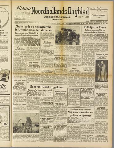 Nieuw Noordhollandsch Dagblad : voor Alkmaar en omgeving 1952-05-12