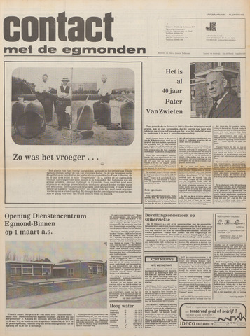 Contact met de Egmonden 1980-02-27
