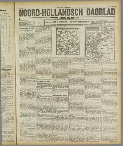 Ons Blad : katholiek nieuwsblad voor N-H 1921-03-23