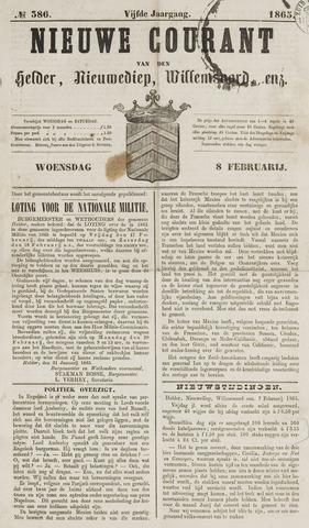 Nieuwe Courant van Den Helder 1865-02-08