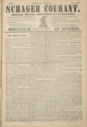 Schager Courant 1874-10-29
