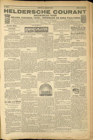 Heldersche Courant 1927-01-11