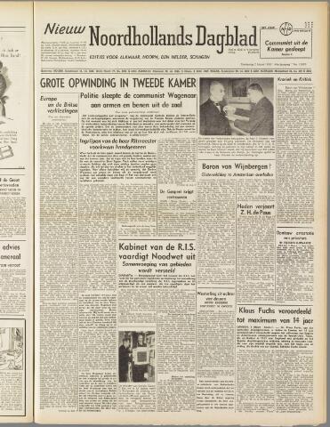 Nieuw Noordhollandsch Dagblad : voor Alkmaar en omgeving 1950-03-02