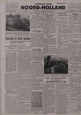 Dagblad Noord-Holland, Schager editie 1942-07-23