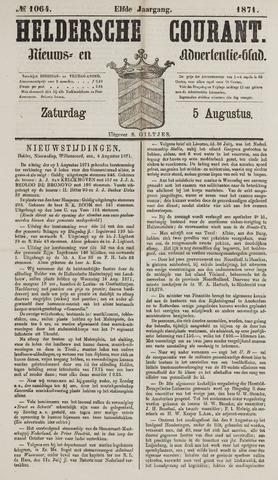 Heldersche Courant 1871-08-05