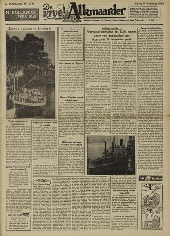 De Vrije Alkmaarder 1949-11-11