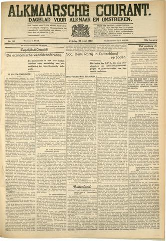 Alkmaarsche Courant 1933-06-23