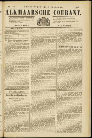 Alkmaarsche Courant 1889-11-20