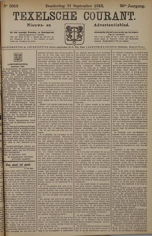 Texelsche Courant 1916-09-21