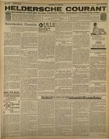 Heldersche Courant 1936-06-27