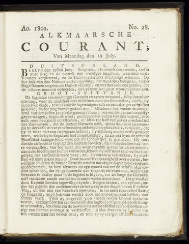 Alkmaarsche Courant 1802-07-12