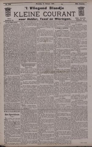 Vliegend blaadje : nieuws- en advertentiebode voor Den Helder 1900-02-21