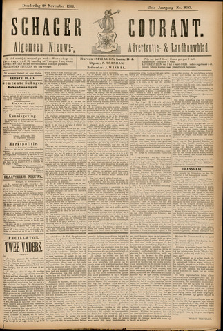 Schager Courant 1901-11-28