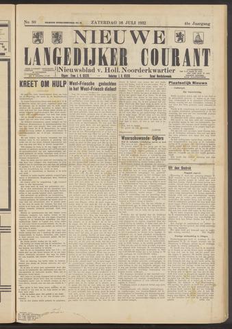 Nieuwe Langedijker Courant 1932-07-16