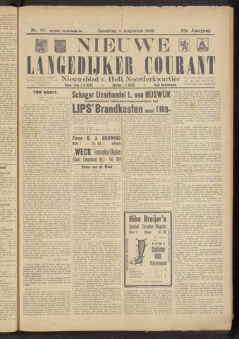 Nieuwe Langedijker Courant 1928-08-04