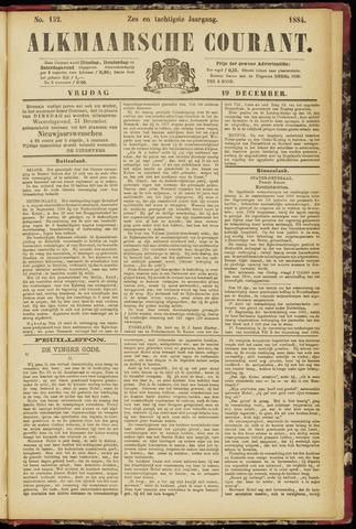 Alkmaarsche Courant 1884-12-19