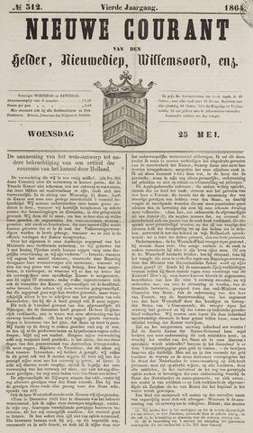 Nieuwe Courant van Den Helder 1864-05-25