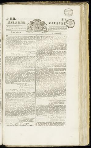 Alkmaarsche Courant 1841-01-04
