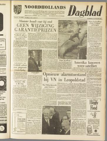 Noordhollands Dagblad : dagblad voor Alkmaar en omgeving 1960-11-24